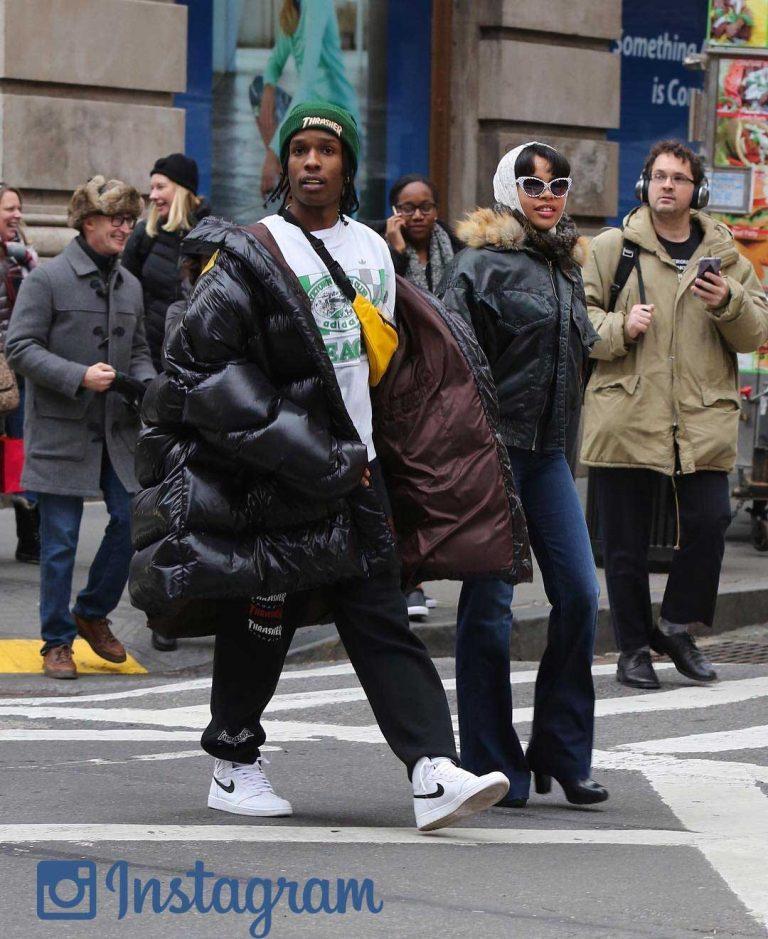 A$ap Rocky Oversized Puffer