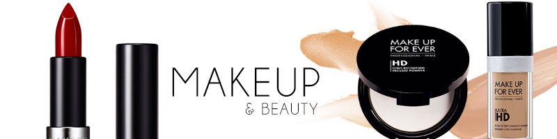 makeup and beauty banner